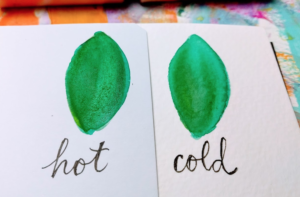 hot pressed watercolor paper cold pressed watercolor paper