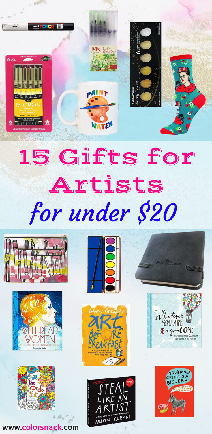 Artist Gift Guide - Gifts for Artist Friends