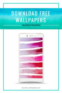 Watercolor Mobile Wallpaper