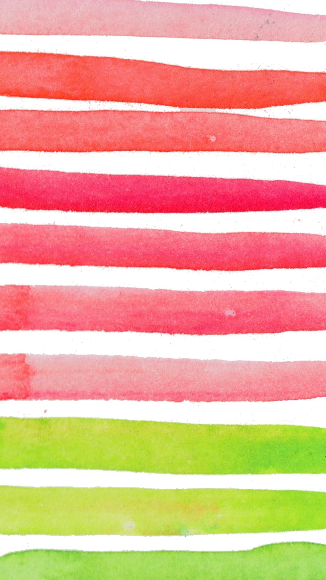 Phone Wallpaper Strawberry Fields Watercolor