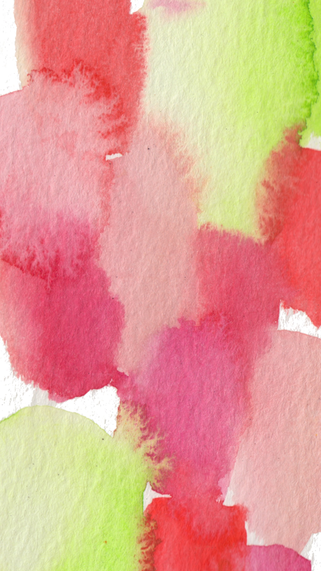 Phone Wallpaper Strawberry Fields Watercolor