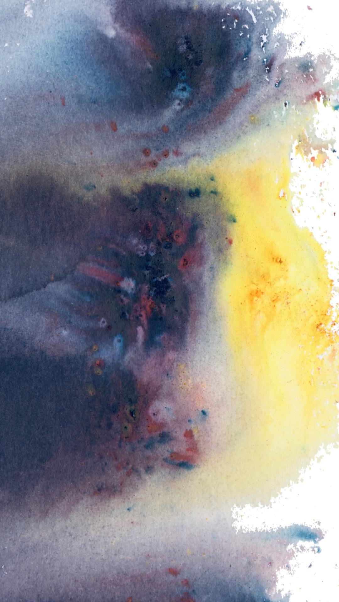 Watercolor Phone Wallpaper - Royal Treatment