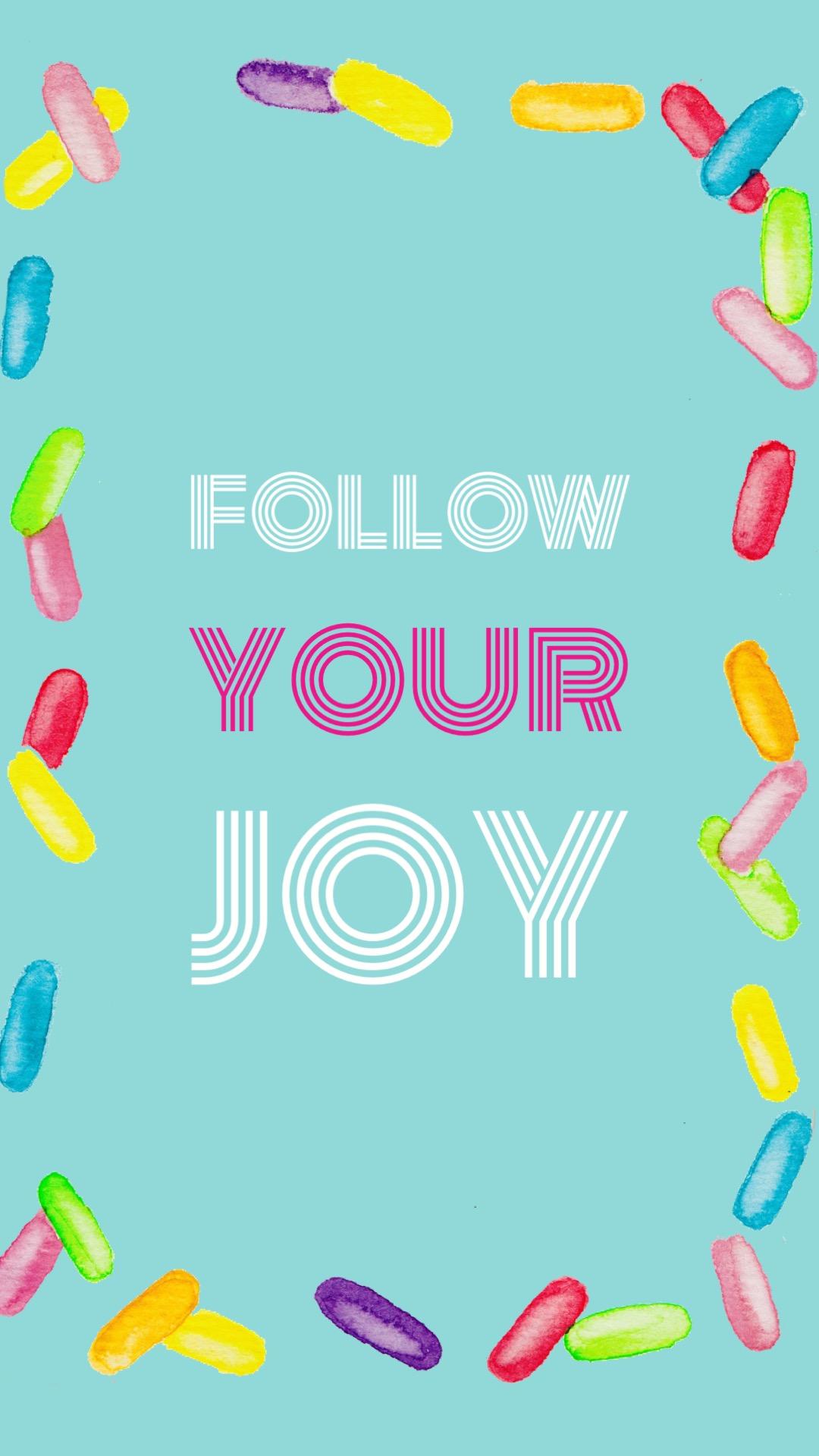 watercolor sprinkles joy phone wallpaper by colorsnack