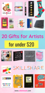 Gifts for Artists Gift Guide for Creatives