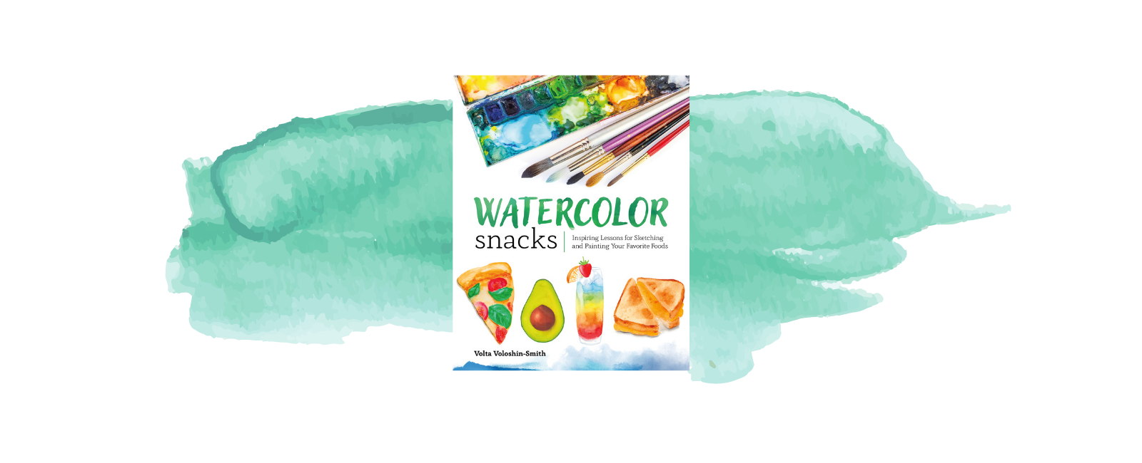 watercolor snacks watercolor book